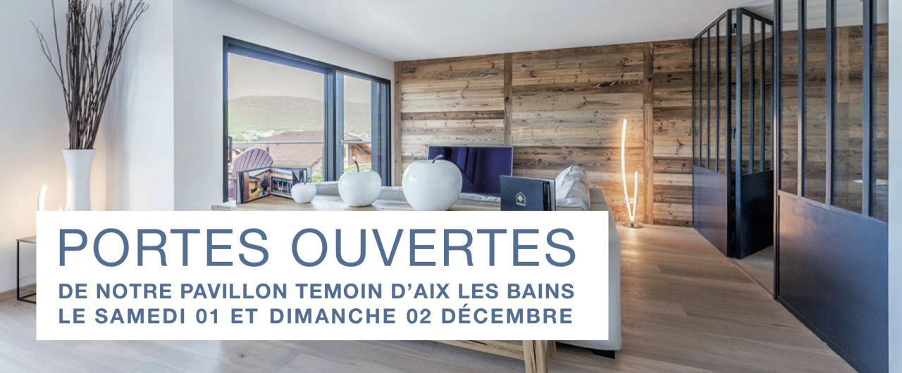 PORTES OUVERTES de notre Pavillon Témoin d'Aix les Bains