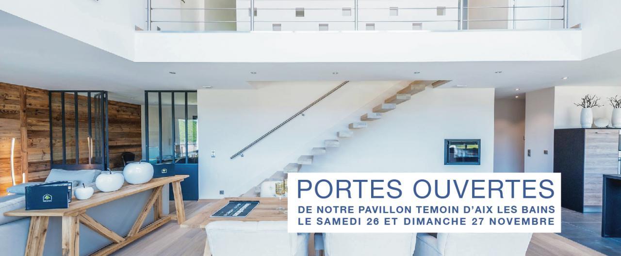 PORTES OUVERTES de notre Pavillon Témoin d'Aix les Bains le samedi 26 et dimanche 27 Novembre