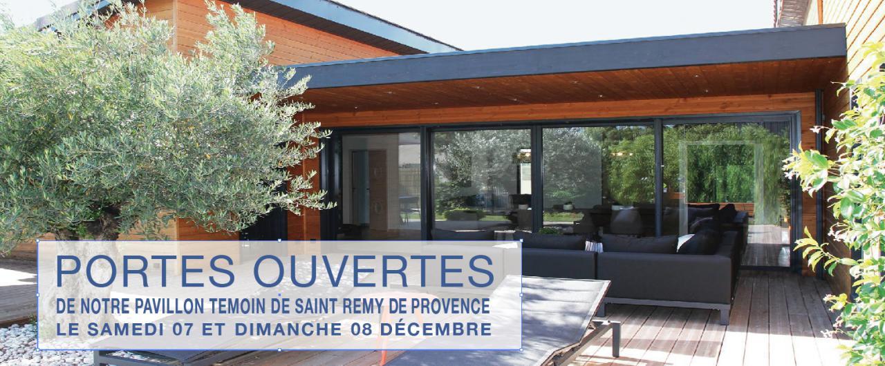 PORTES OUVERTES de notre Pavillon Témoin de Saint Rémy de Provence le samedi 07 et dimanche 08 décembre